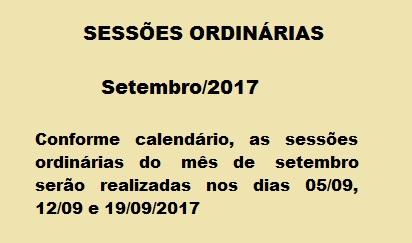 Calendário setembro-2017